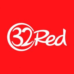 32red logo white red