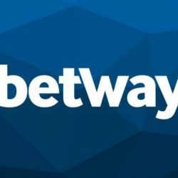 betway casino logo white and blue